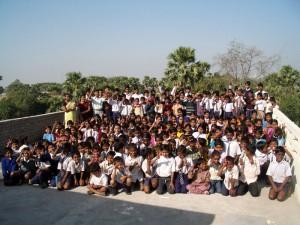 ニランジャナの孤児院にて